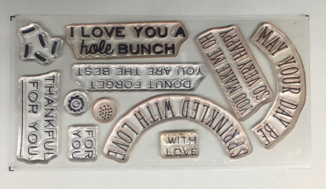 Photopolymer words in May Paper Pumpkin Kit