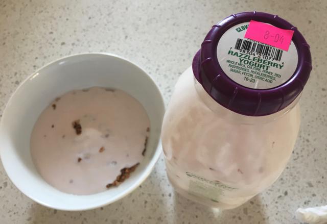 (Rich) Razzleberry Yogurt