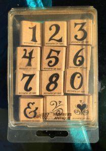 Numbers Antique