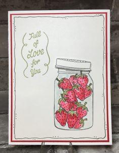 RMHC stamp set - strawberries