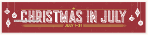 Christmas in July SU! Promo