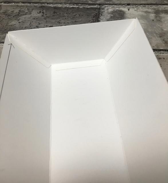 Adding end piece to box