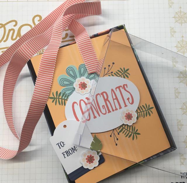 Paper Pumpkin Giftable Greetings Kit - Cards/envelopes, ribbon, tag, box/lid