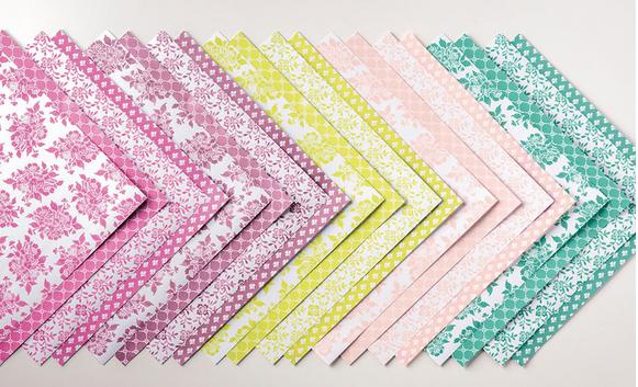 Fresh Florals Designer Series Paper