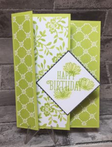 Tri-fold Card, closed