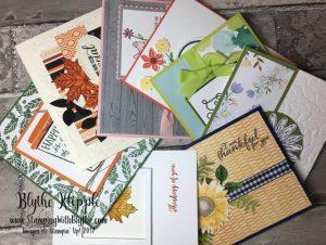 September buffet cards