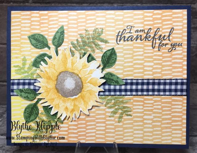 September Buffet Card #3