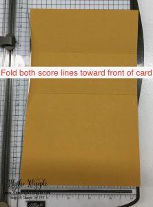 2- fold on score lines