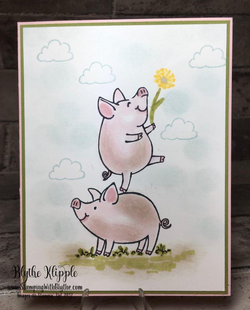 2 little piggies