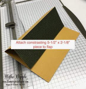 3- attach layer to flap