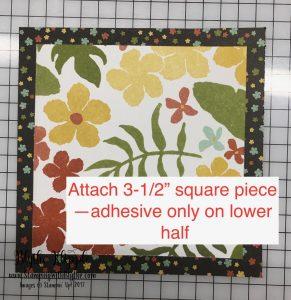 5- attach decorative layer