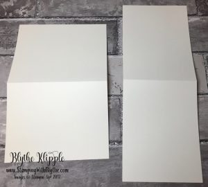 """8-1/2"""" x 5-1/2"""" card front base"""