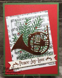 Card 8 Peace love joy