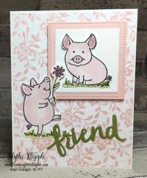 this little piggy friend