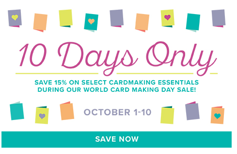 World Card Making Days-10 days only