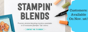Stampin' Up! Blends availalbe Nov 1st