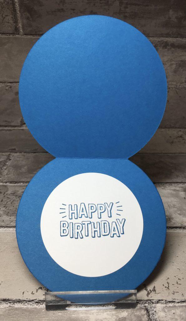 Happy Birthday from the Confetti Birthday stamp set