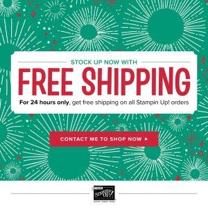 free shipping today, November 27th