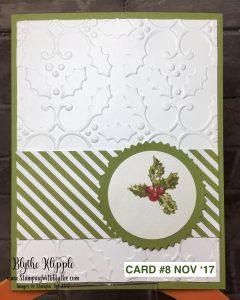 November 2017 Buffet card #8