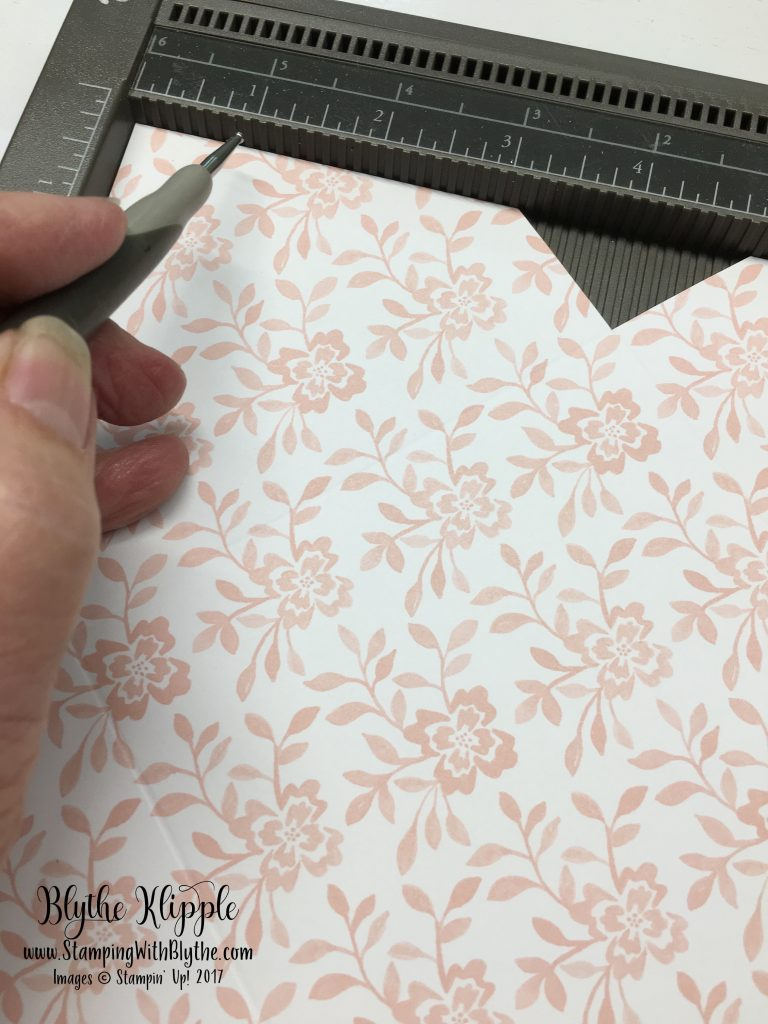 Pinwheel Card Made with the Envelope Punch Board