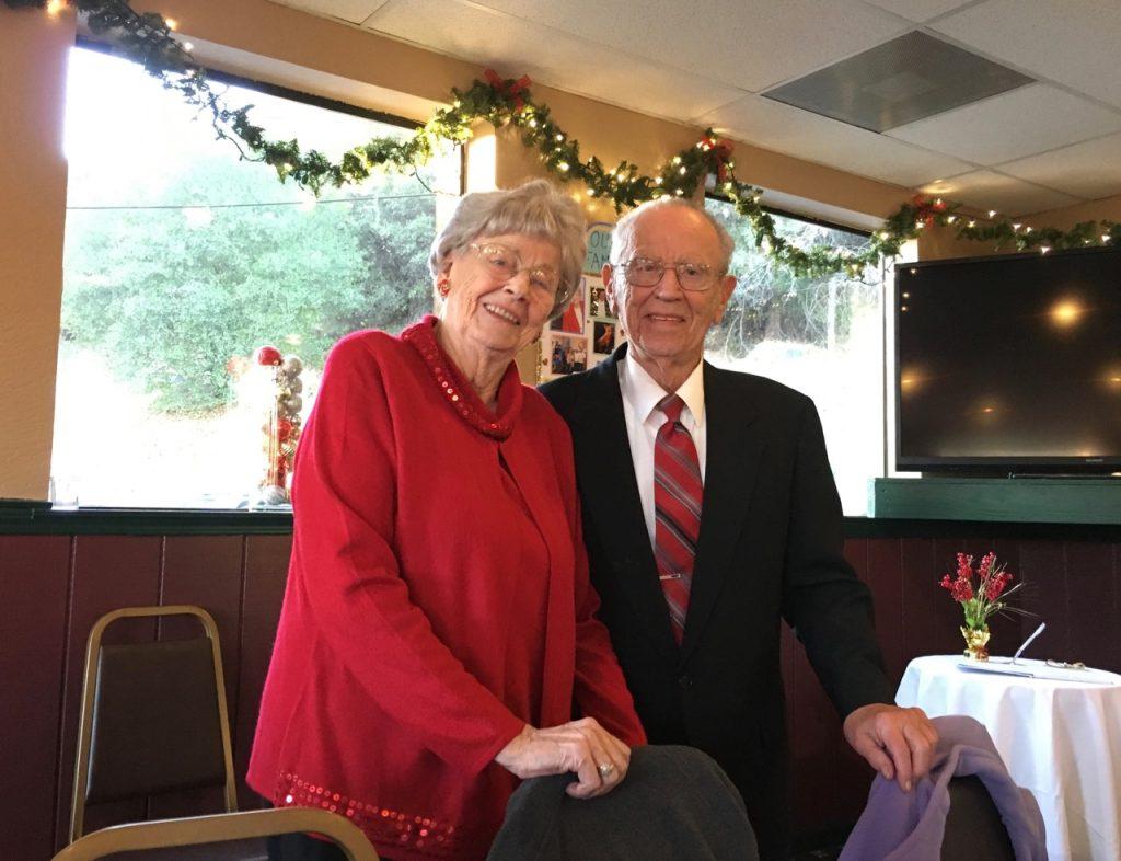 75th Anniversary card recipients