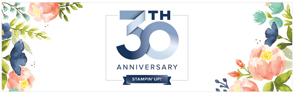 Happy 30th Anniversary year for Stampin Up