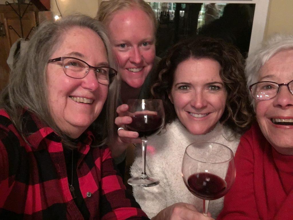Janet, Christy, Kelly and Blythe