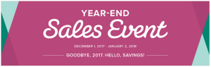 Year-End Sales Event 2017