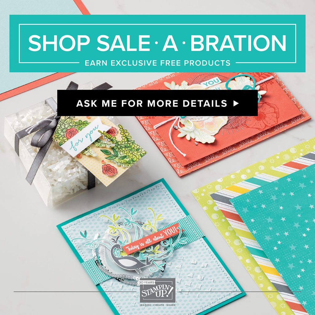 Sale-a-Bration is The Most Wonderful Time of the Stamper's Year