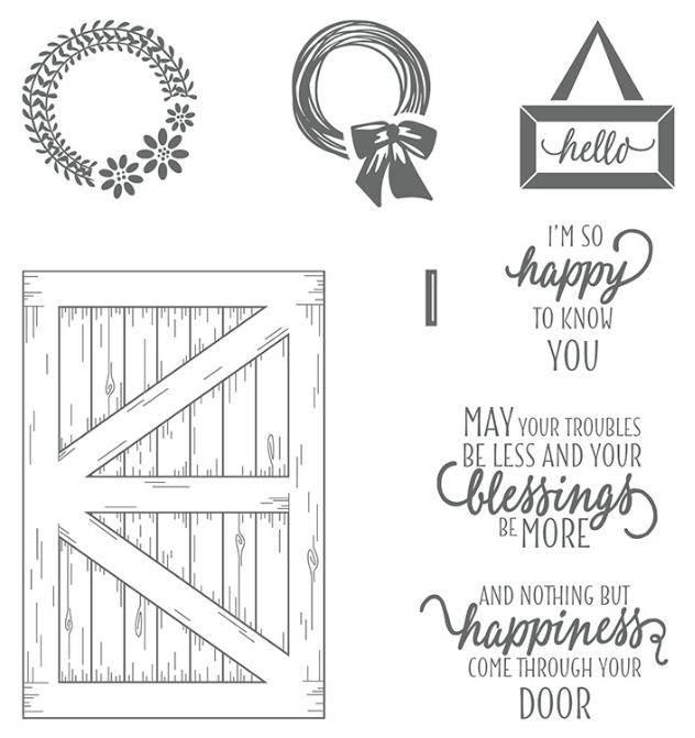 whats your favorite stamp set - barn door