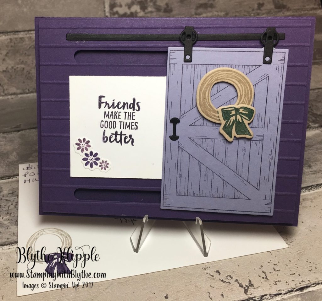 What's your favorite stamp set - in purple