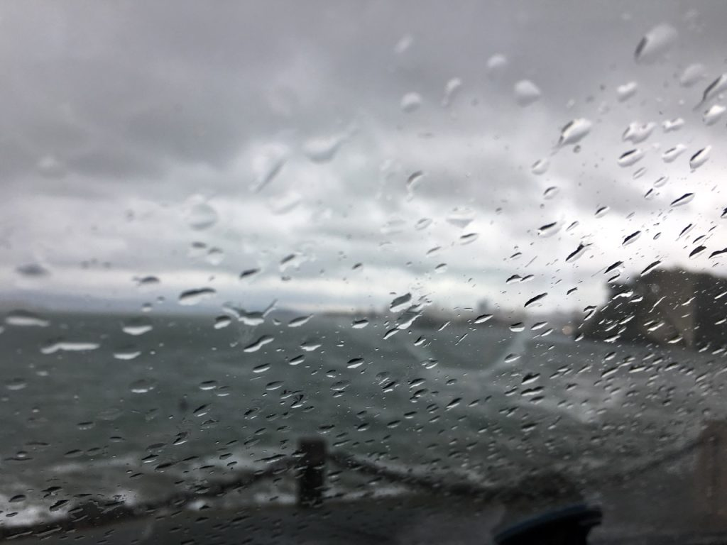 Fort Point - storm hits