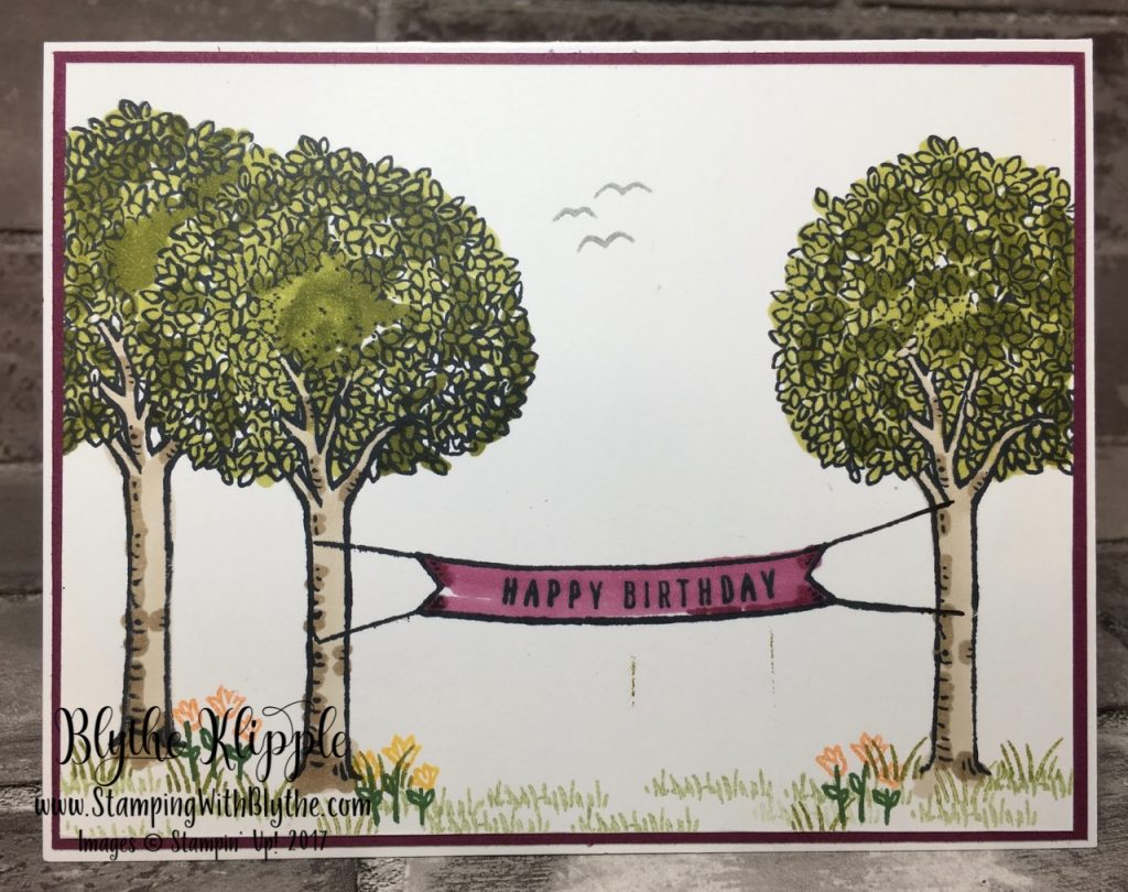 Have a wonderful day in the trees - Rich Razzleberry