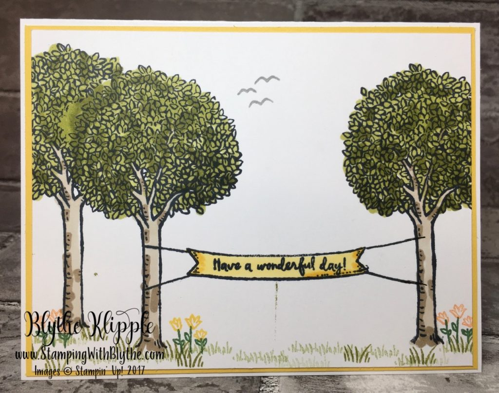 Have a wonderful day in the trees - Daffodil Delight