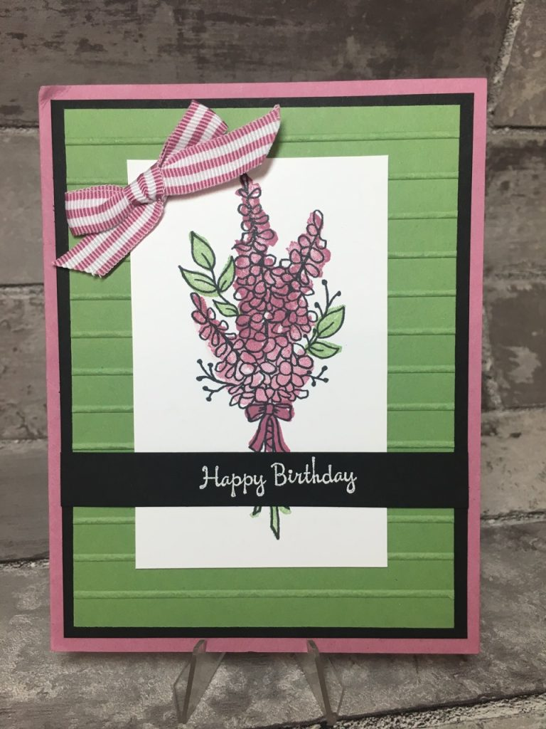 Stampin' Up! Birthday Cards in the mail - Lots of Lavender - SAB 2018