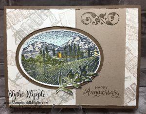 The Tuscany Vineyard - Happy Anniversary