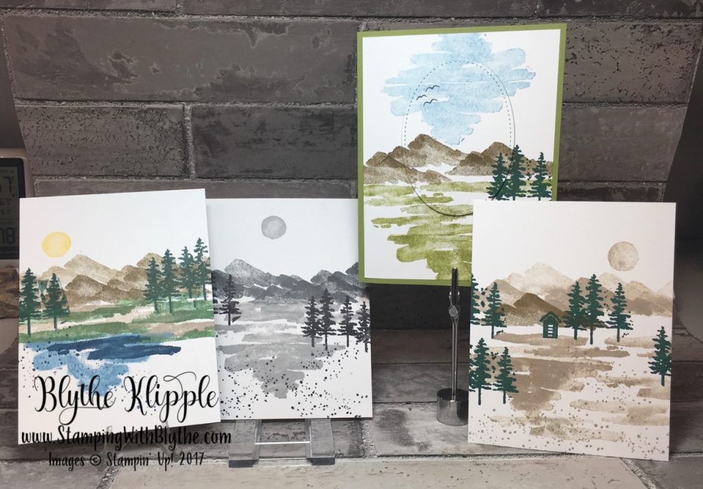 What's your favorite stamp set - waterfront