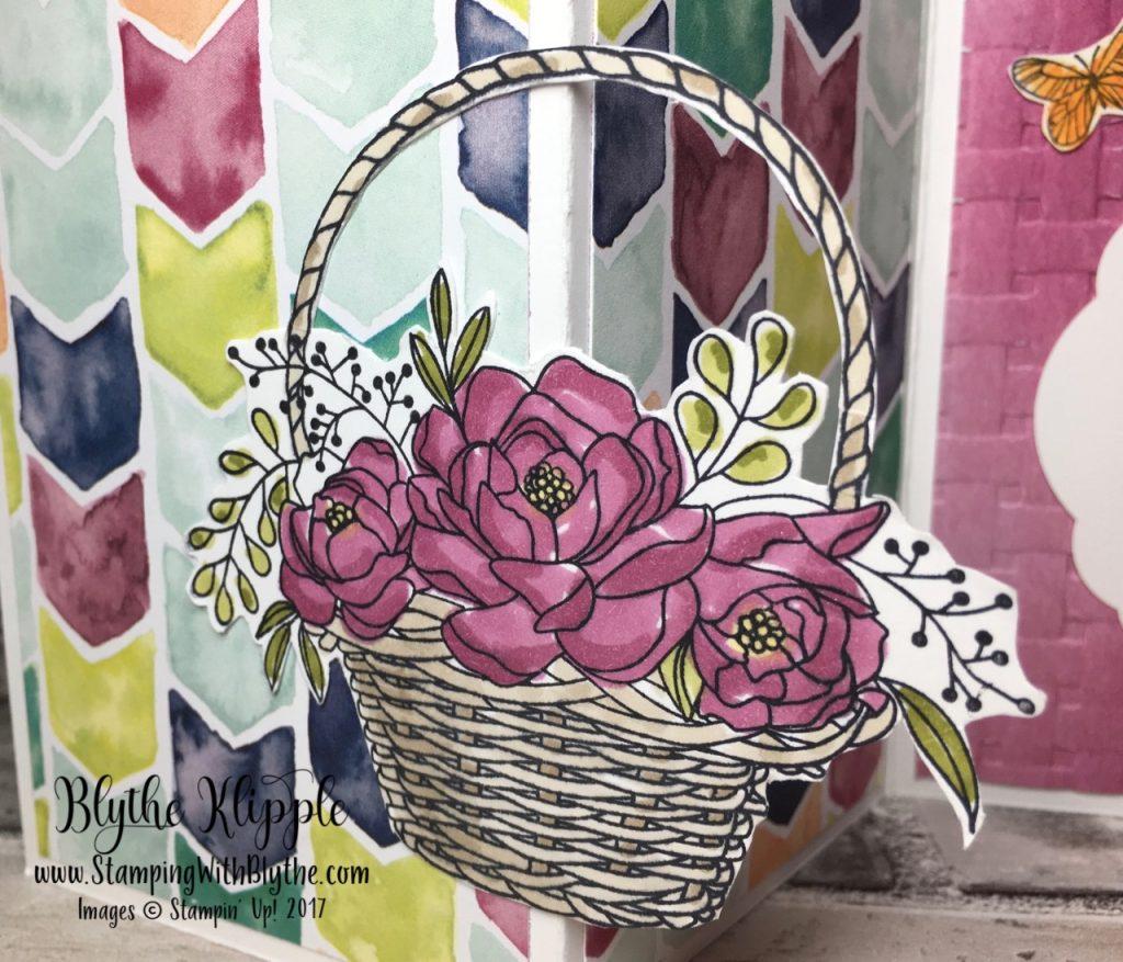 More Blossoming Basket Bundle - blooms close up