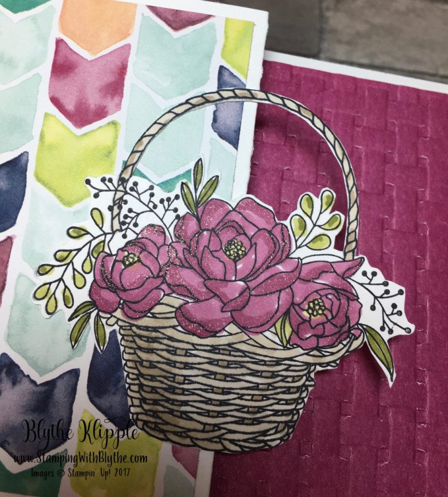 More Blossoming Basket Bundle - blooms with Wink of Stella
