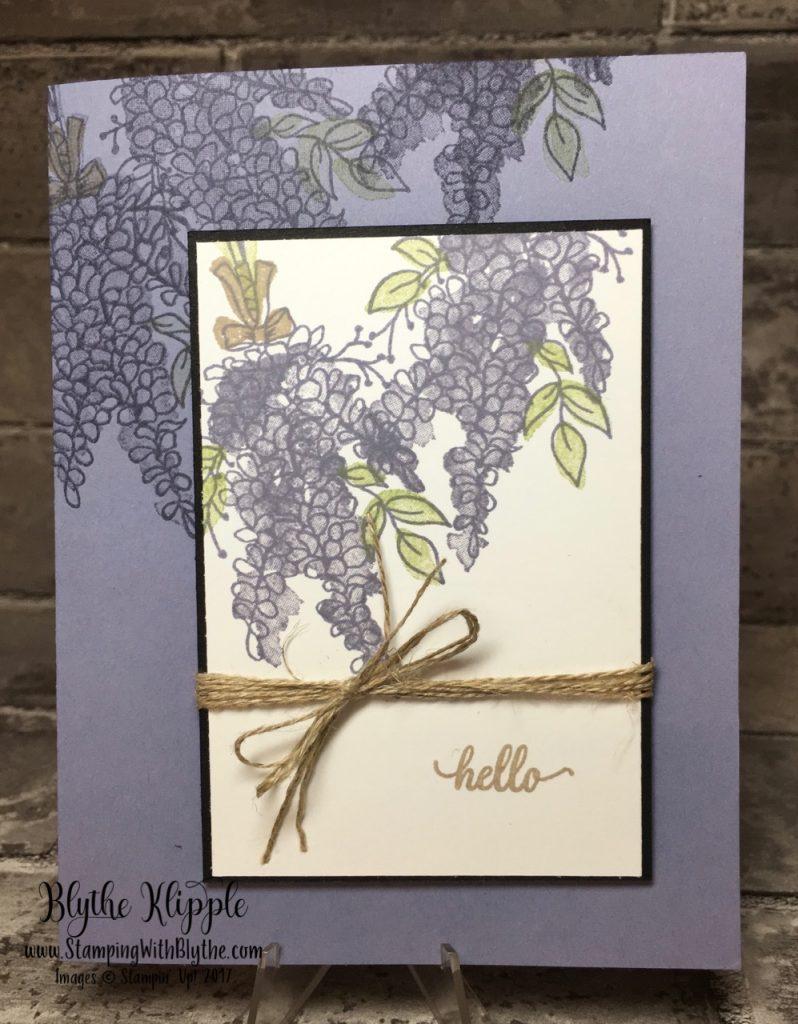Lots of Lavender free stamp set