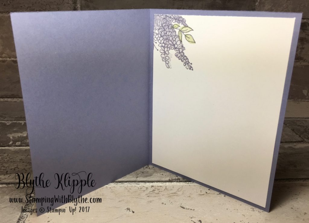 Lots of Lavender free stamp set - inside