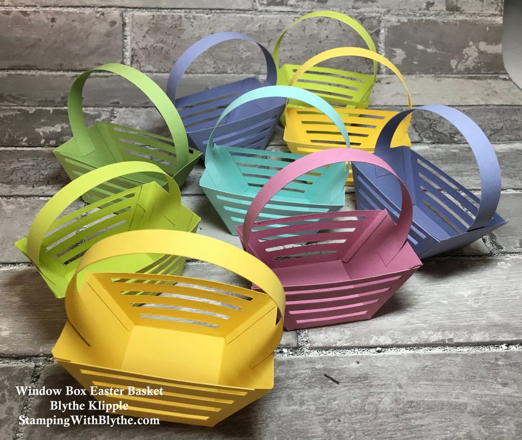 Window Box Thinlits Easter Baskets