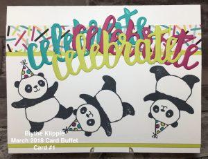 Blythe's Card Buffet, March 2018