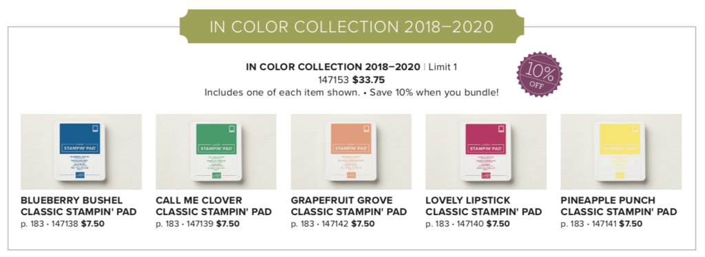 The Swapping of the In Color Collections