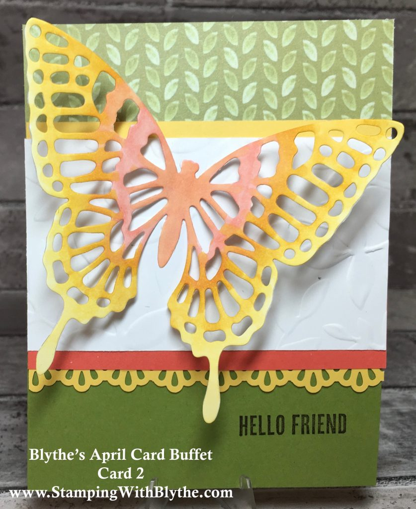 April 2018 Card Buffet