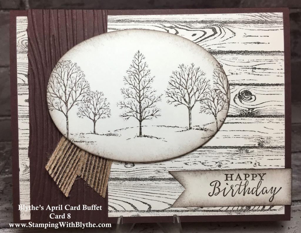 April 2018 Card Buffet