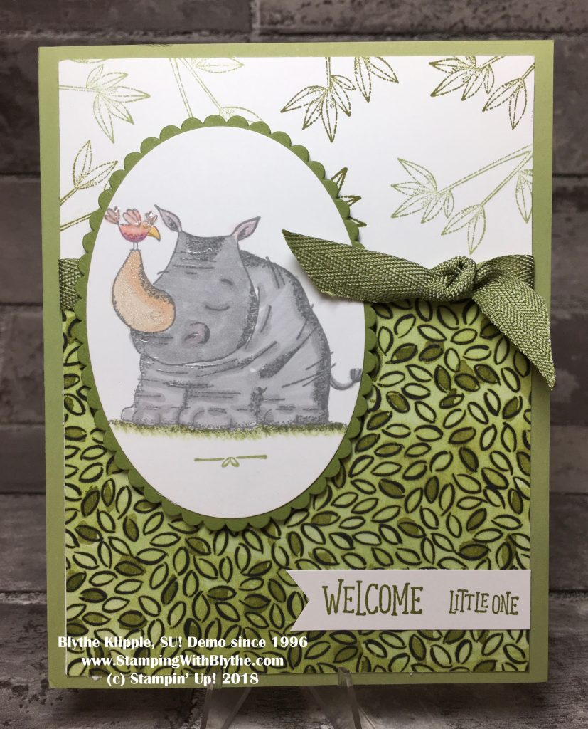 Animal Outing Sneak Peak and Baby Shower Card