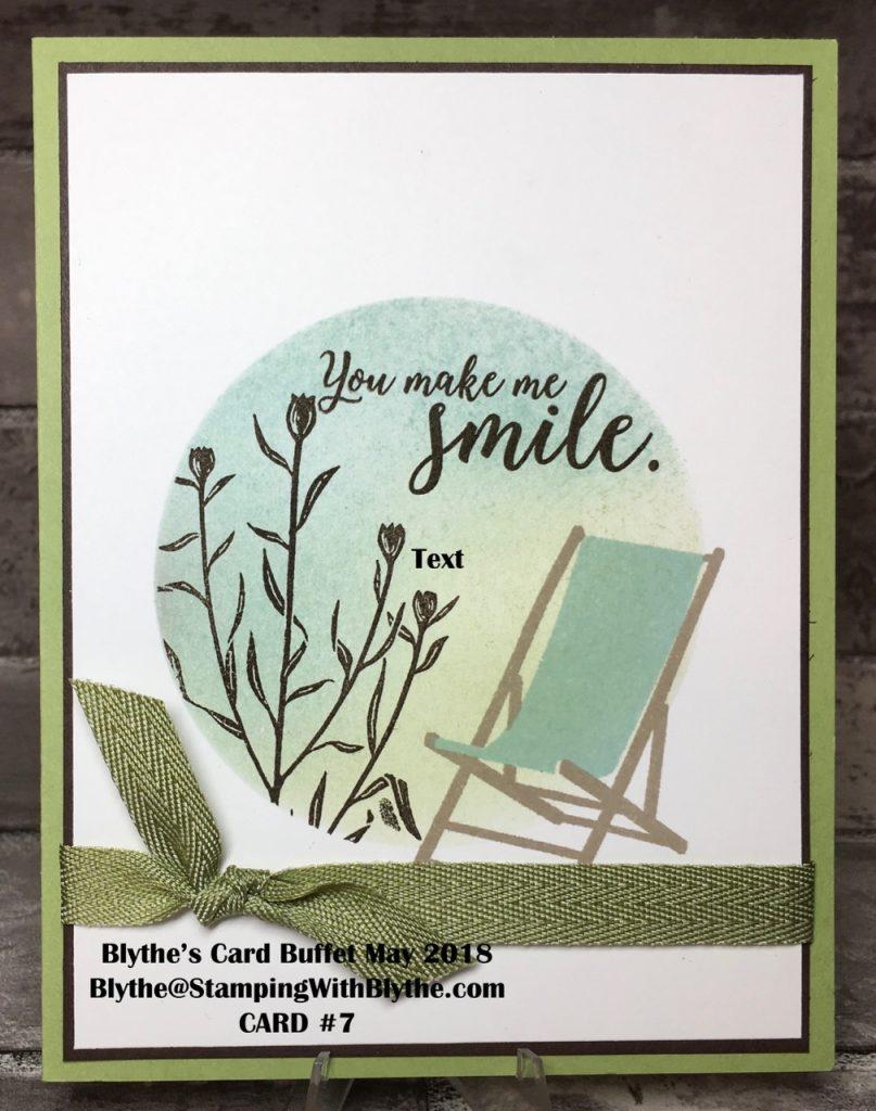 Blythe's Card Buffet, May 2018