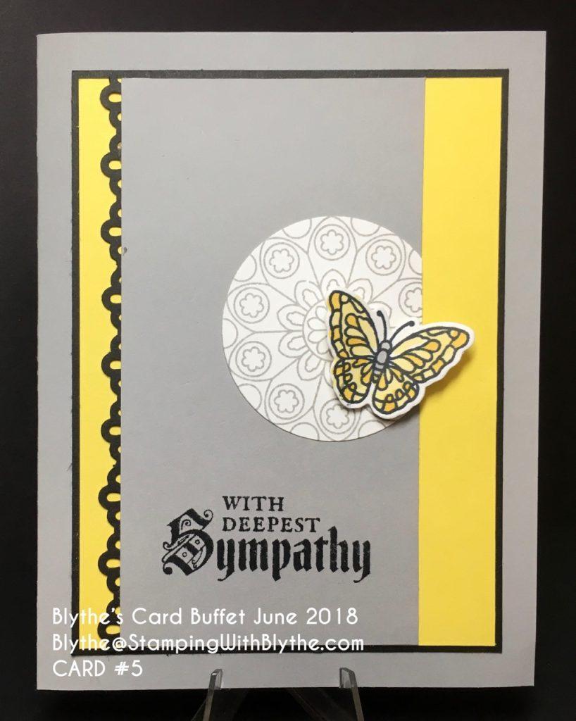 Blythe's June Card Buffet, June 26th