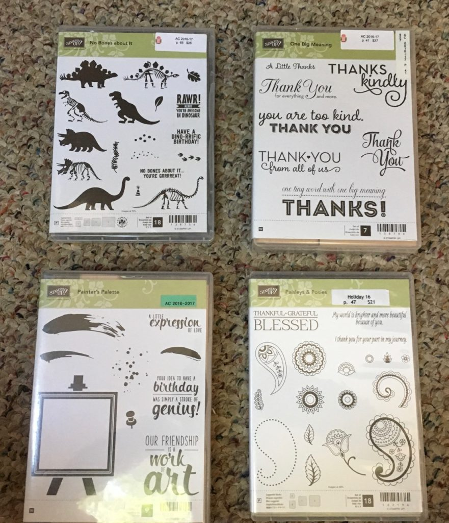 Stamp Sets are Looking For New Homes
